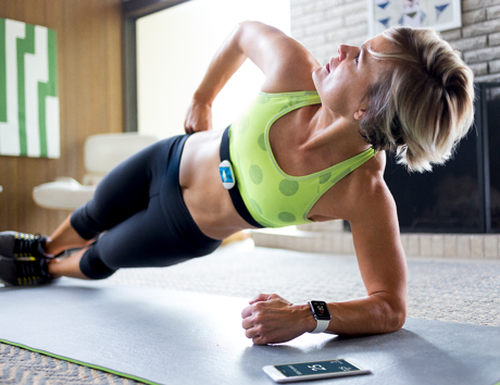 TICKR X and Seven Minute Workout